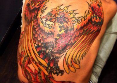fenix-oriental-kuroneko-tattoo-zaragoza