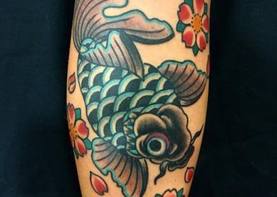 golden fish. kuronekotattoo