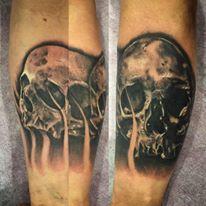 calavera tattoo.kuronekotattoo